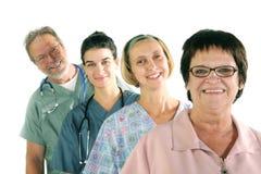 ομάδα νοσοκομείων Στοκ Εικόνες