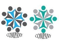 ομάδα πνευμάτων λογότυπω&nu Στοκ εικόνα με δικαίωμα ελεύθερης χρήσης
