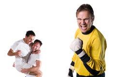 ομάδα ποδοσφαίρου Στοκ φωτογραφία με δικαίωμα ελεύθερης χρήσης