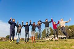ομάδα πολυφυλετική Στοκ Φωτογραφία