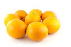 Ομάδα πορτοκαλιού καρπού Στοκ φωτογραφίες με δικαίωμα ελεύθερης χρήσης