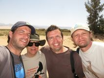Ομάδα που εστιάζει στην άγρια φύση Sprinters, πρωτοπόροι Flyway, EI στοκ εικόνες