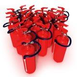 ομάδα πυρκαγιάς πυροσβ&epsil Στοκ φωτογραφία με δικαίωμα ελεύθερης χρήσης