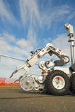 ομάδα ρομπότ βομβών τακτική Στοκ εικόνα με δικαίωμα ελεύθερης χρήσης
