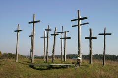ομάδα σταυρών στοκ εικόνα με δικαίωμα ελεύθερης χρήσης