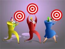 ομάδα στόχων ελεύθερη απεικόνιση δικαιώματος