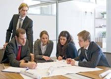ομάδα συνεδρίασης του σ Στοκ Εικόνα