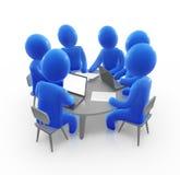 ομάδα συνεδρίασης ελεύθερη απεικόνιση δικαιώματος