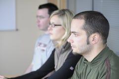 ομάδα συνεδρίασης Στοκ Εικόνες