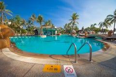 Ομάδα του ξενοδοχείου Hilton στη Hua hin της Ταϊλάνδης Στοκ φωτογραφίες με δικαίωμα ελεύθερης χρήσης