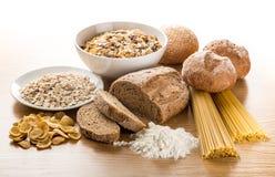 Ομάδα τροφίμων σιταριού Στοκ Εικόνα