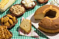 Ομάδα τροφίμων Festa Junina, ένα χαρακτηριστικό βραζιλιάνο κόμμα: Pe de Στοκ φωτογραφίες με δικαίωμα ελεύθερης χρήσης