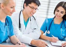 Ομάδα των γιατρών Στοκ Εικόνα