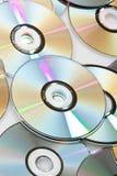 ομάδα των CD Στοκ φωτογραφία με δικαίωμα ελεύθερης χρήσης