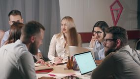 Ομάδα φιλόδοξων επιχειρηματιών φιλμ μικρού μήκους