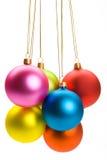 ομάδα Χριστουγέννων μπιχλ Στοκ Εικόνες