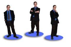 ομάδα 9 επιχειρήσεων στοκ εικόνες