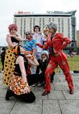 Ομάδα Cosplay στοκ εικόνες με δικαίωμα ελεύθερης χρήσης