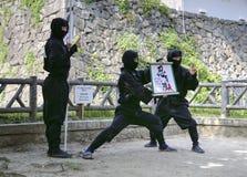 Ομάδα Ninja στο Νάγκουα στοκ φωτογραφίες