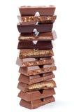 Ομάδες δεδομένων σοκολάτας Στοκ Εικόνα