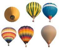 Ομάδας χρώμα μπαλονιών που απομονώνεται καυτό Στοκ Εικόνα