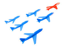 ομάδα αεροσκαφών Στοκ εικόνες με δικαίωμα ελεύθερης χρήσης