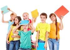 Ομάδα ανθρώπων εφήβων. στοκ εικόνες με δικαίωμα ελεύθερης χρήσης