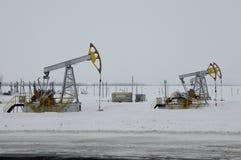 Ομάδα αντλιών πετρελαίου Στοκ Φωτογραφίες