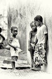 Ομάδα από τη Γκάνα παιδιών Στοκ φωτογραφίες με δικαίωμα ελεύθερης χρήσης