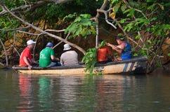 Ομάδα βαρκών FishermanΣτοκ Εικόνες