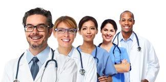 Ομάδα γιατρών και νοσοκόμων στοκ φωτογραφίες
