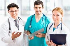 Ομάδα γιατρών Στοκ εικόνες με δικαίωμα ελεύθερης χρήσης