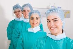 ομάδα γιατρών Στοκ Εικόνα