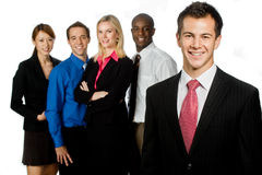 Ομάδα επαγγελματιών Στοκ εικόνα με δικαίωμα ελεύθερης χρήσης