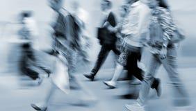 Ομάδα επιχειρηματιών στην οδό Στοκ φωτογραφία με δικαίωμα ελεύθερης χρήσης