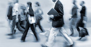 Ομάδα επιχειρηματιών στην οδό Στοκ εικόνα με δικαίωμα ελεύθερης χρήσης