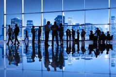Ομάδα επιχειρηματιών στην πόλη της Νέας Υόρκης Στοκ Φωτογραφίες