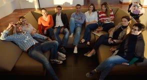 Ομάδα επιχειρηματιών στη συνεδρίαση Στοκ φωτογραφίες με δικαίωμα ελεύθερης χρήσης