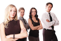 ομάδα επιχειρησιακής ένν&omicr Στοκ εικόνα με δικαίωμα ελεύθερης χρήσης