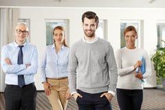 ομάδα επιχειρησιακών γρα Στοκ εικόνες με δικαίωμα ελεύθερης χρήσης
