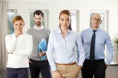 ομάδα επιχειρησιακών γρα Στοκ Εικόνες