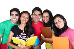 Ομάδα ινδικών σπουδαστών στοκ φωτογραφίες με δικαίωμα ελεύθερης χρήσης