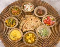 Ομάδα ινδικών τροφίμων Στοκ Εικόνες