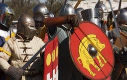 Ομάδα ιπποτών Στοκ φωτογραφία με δικαίωμα ελεύθερης χρήσης