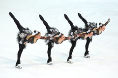 Ομάδα Καναδάς ένα Pirouette Στοκ Φωτογραφία