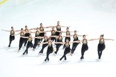 Ομάδα Καναδάς δύο ομάδα Στοκ φωτογραφία με δικαίωμα ελεύθερης χρήσης