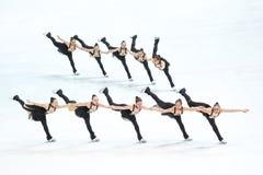 Ομάδα Καναδάς δύο στη γραμμή Στοκ φωτογραφία με δικαίωμα ελεύθερης χρήσης
