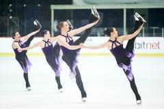 Ομάδα Καναδάς δύο Pirouette Στοκ Εικόνες