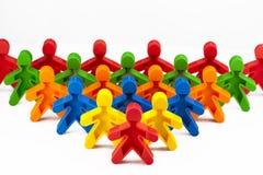 Ομάδα κινούμενων σχεδίων χρώματος Στοκ Εικόνες