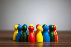Ομάδα, κύκλος των φίλων, ποικιλομορφία, ενωμένη έννοια στοκ φωτογραφία με δικαίωμα ελεύθερης χρήσης